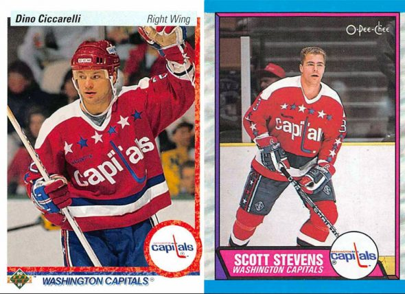 87ee63c0b The Capitals originally wore this uniform style from 1974-1995
