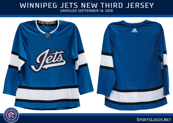 reputable site 7f238 423cf Winnipeg Jets Unveil New Alternate Uniform | Chris Creamer's ...