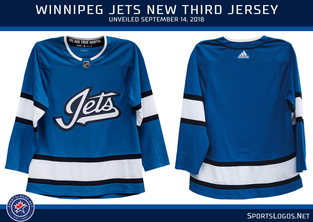 online store b37ad 2188f Winnipeg Jets Unveil New Third Jersey 2018 2019 Alternate ...