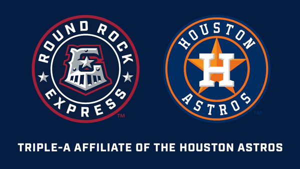 Round Rock Express introduce new logos with Astros affiliation
