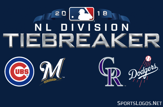 The 2018 MLB Tiebreaker Logos