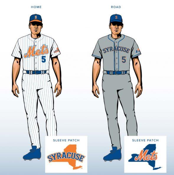 the latest 955c6 2c039 Syracuse Chiefs rebrand as Syracuse Mets | Chris Creamer's ...