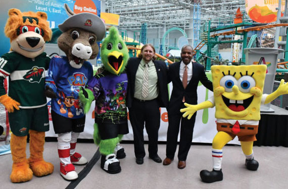ECHL partners with Nickelodeon for a season of themed
