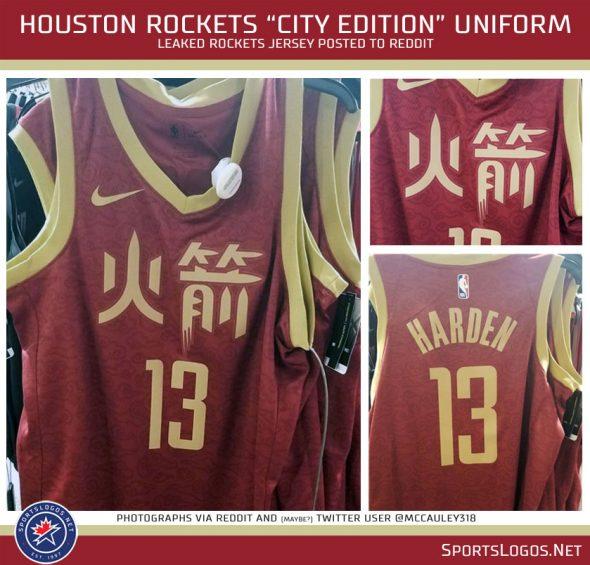 Leaks Show New Unis for Houston Rockets, Boston Celtics ...