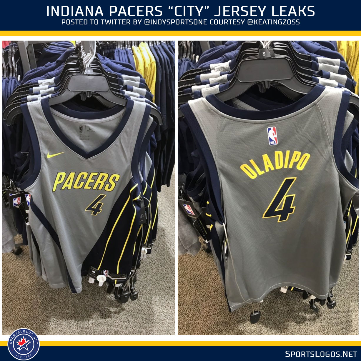 Pacers New Uniforms 2019 More NBA City Uniform Leaks: Nets, Pacers, and Knicks | Chris