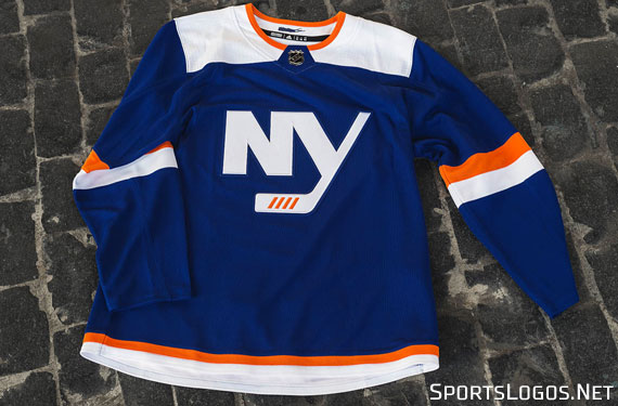 Isles Officially Unveil New Third Jersey