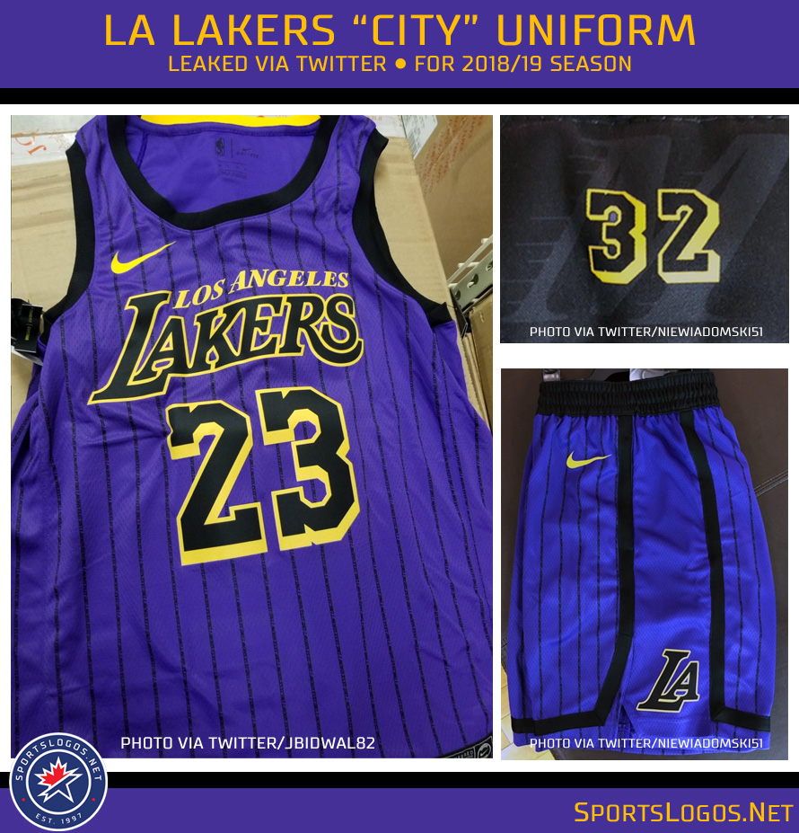 Magical New LA Lakers City Uniform Leaked  1b24ca1512f2