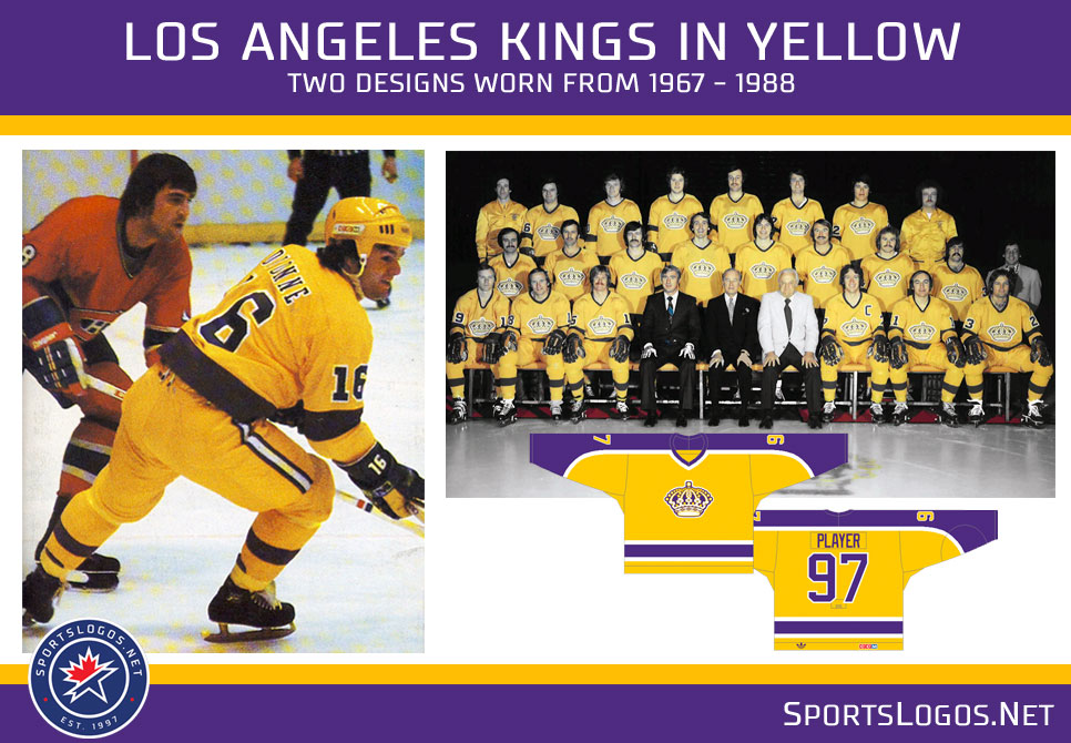 8c0277880b88 A History of Yellow Uniforms in the NHL