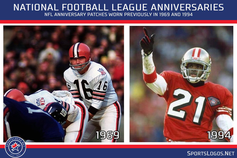pretty nice 9c935 3bf3f NFL Unveils Logo for 100th Anniversary Season   Chris ...