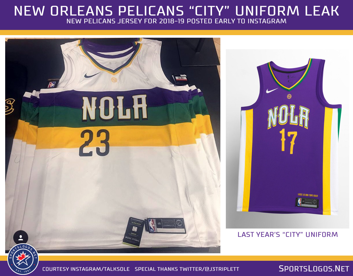 New Uniforms Leak For Sixers Pelicans Sportslogos Net News