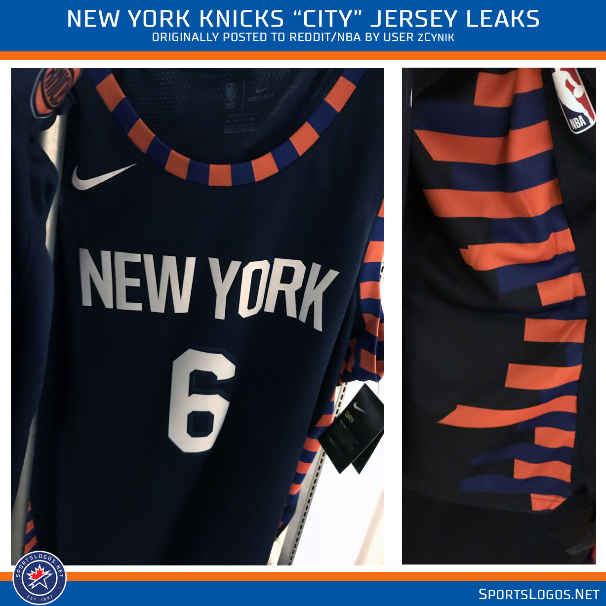 low priced b9d02 5cc91 More NBA City Uniform Leaks: Nets, Pacers, and Knicks ...
