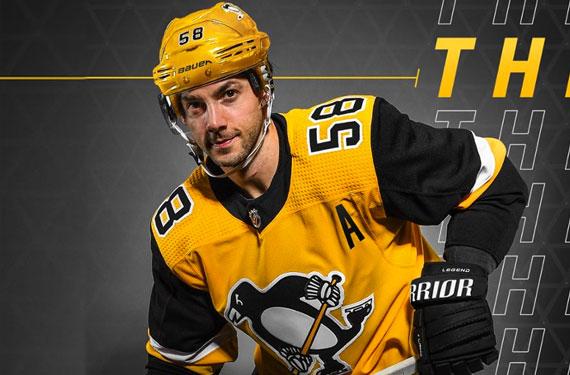 Penguins Unveil New Gold Third Uniform  a91bf52c281