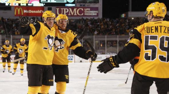 finest selection d10b8 a1809 Penguins Unveil New Gold Third Uniform | Chris Creamer's ...