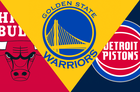 Leaks and Peeks at New Warriors, Pistons, Bulls Uniforms