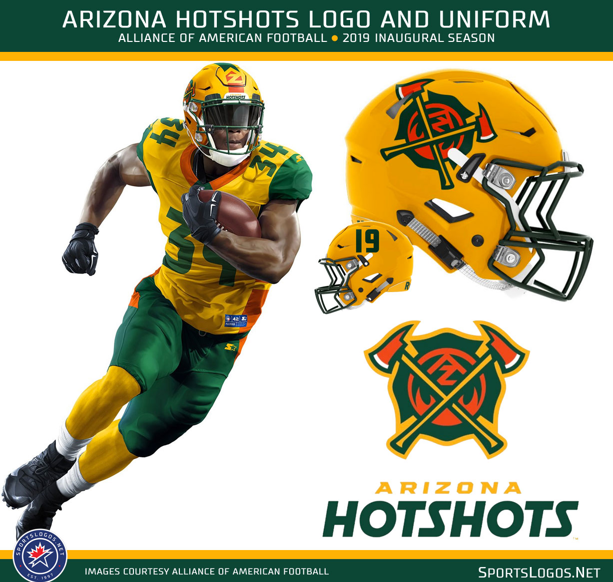 9682f8f5beb The Arizona Hotshots based their identity on the uniforms worn by U.S.  Forest Service firefighters that help battle blazes in throughout Arizona.
