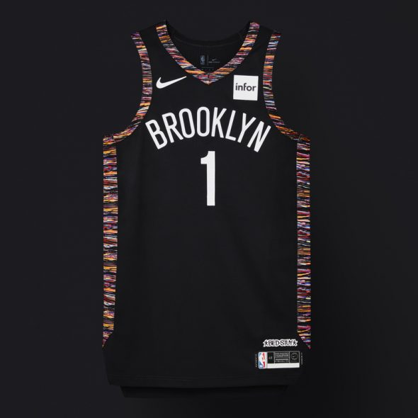"8caf9abd0e87 ... the Nets said at the time of the unveiling. "" Brooklyn  is home to  people of all races"