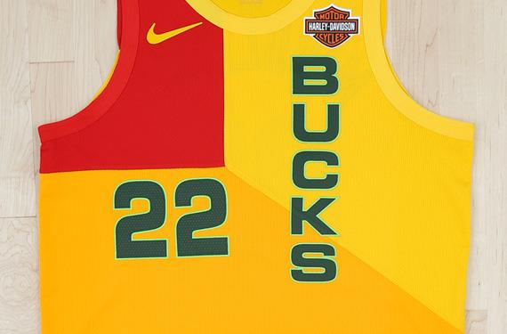 Dressed for Court: Bucks Unveil MECCA Themed Uniform