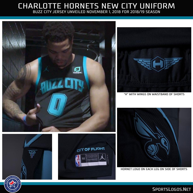 Charlotte Hornets Unveil New Buzz City Uniforms Sportslogos Net News