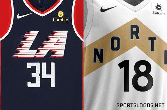 Raptors, Clippers Unveil New City Edition Uniforms