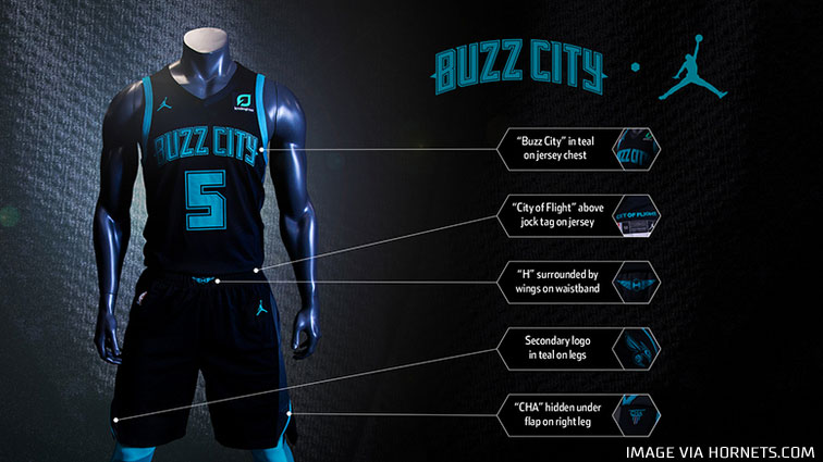 separation shoes 5d187 e0f19 Charlotte Hornets Unveil New Buzz City Uniforms | Chris ...