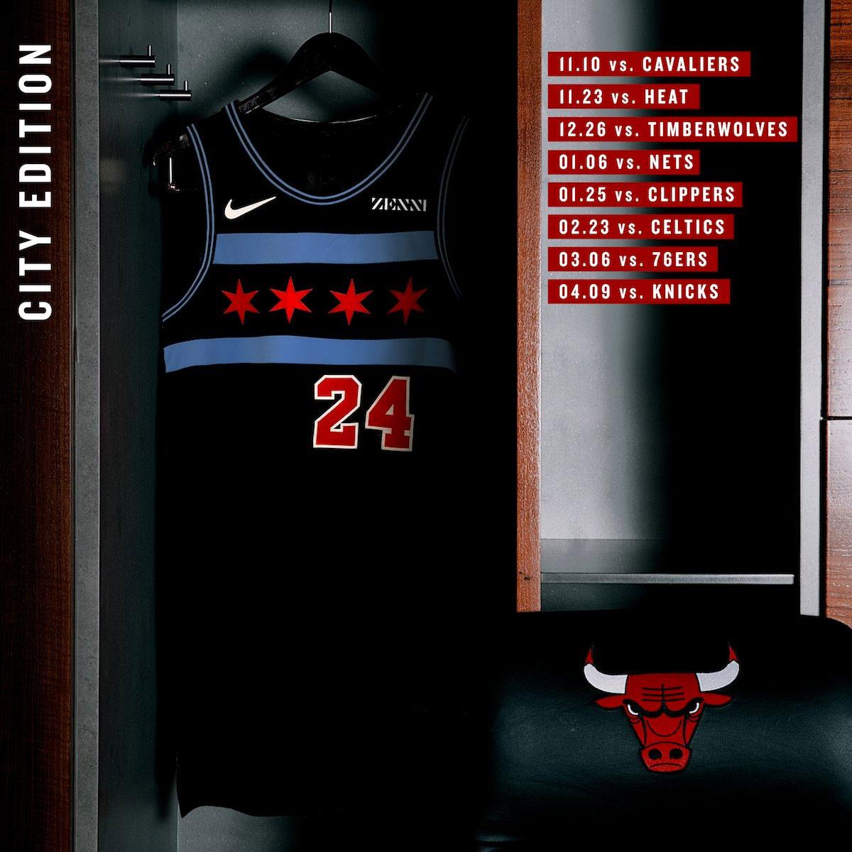 824e09ccf Bulls Show Civic Pride With New Chicago Flag Uniforms