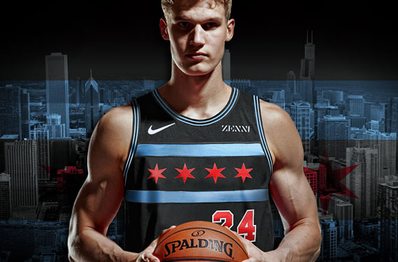 Bulls Show Civic Pride With New Chicago Flag Uniforms