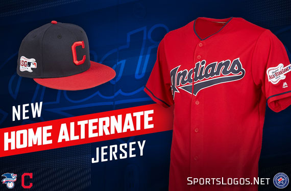Indians unveil new alternate home uniform