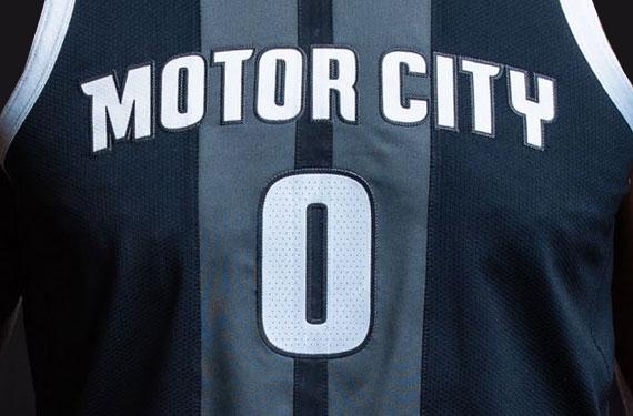 Pistons Unveil New Motor City Uniform