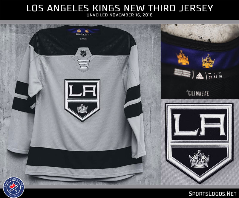 buy popular 31056 f282c Los Angeles Kings Unveil Silver Alternate Uniform | Chris ...