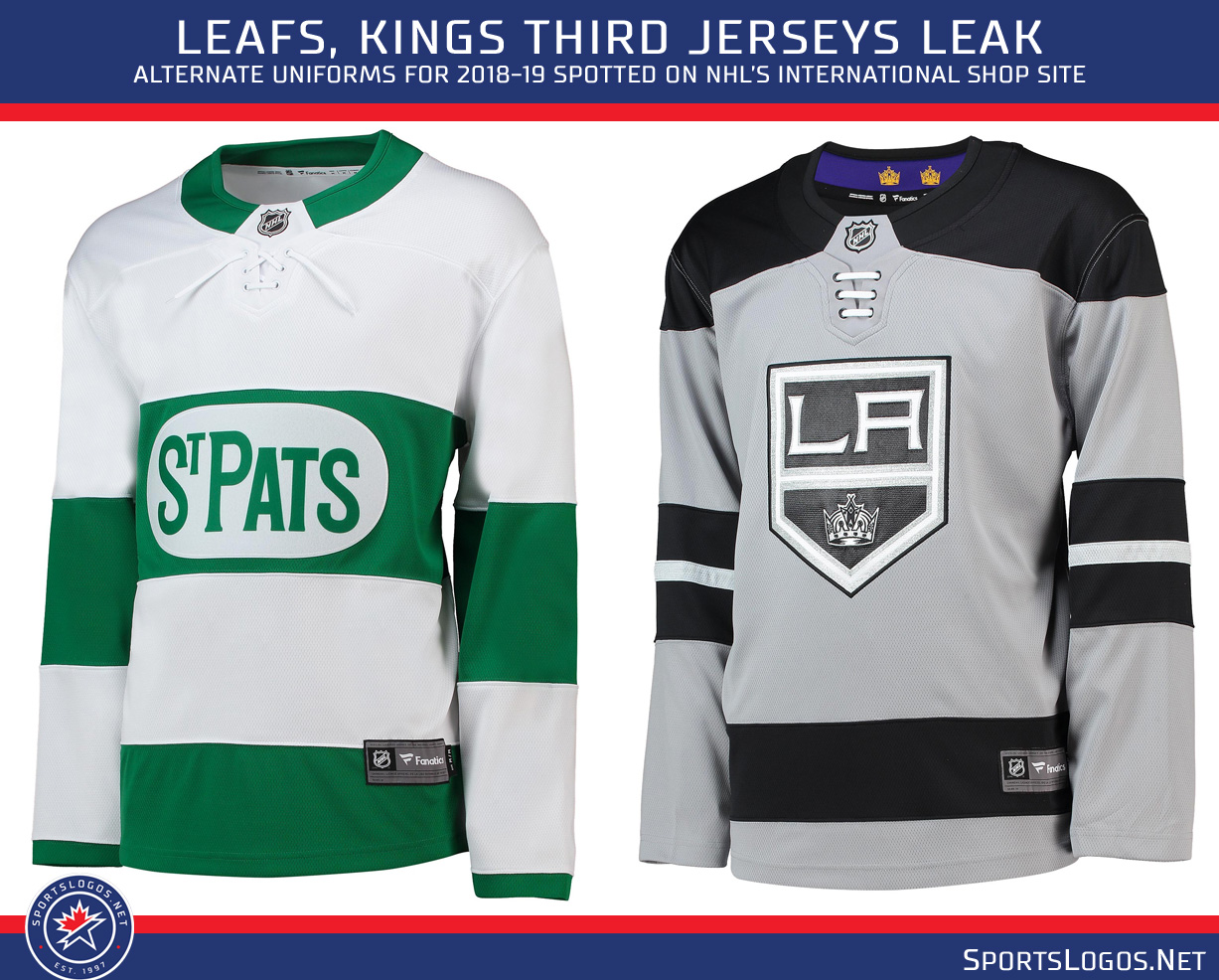 I ve been told the Leafs uniform is not a true third jersey ea3d7f09ecf
