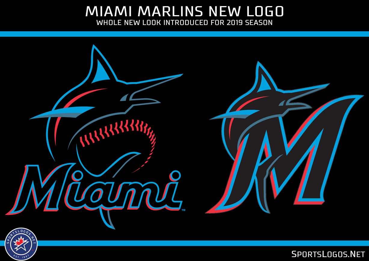 Marlins debut new-look logo, color scheme