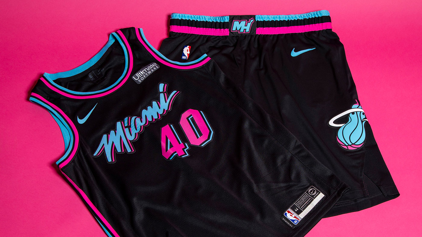Vice Nights 2 0: Miami Heat Unveil New City Uniform | Chris