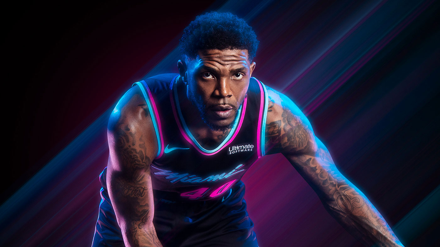 957896563e5 Vice Nights 2.0  Miami Heat Unveil New City Uniform