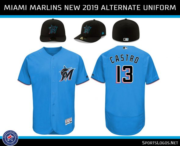 1dba32dbb A quick comparison showing how the Marlins colours have evolved over the  years