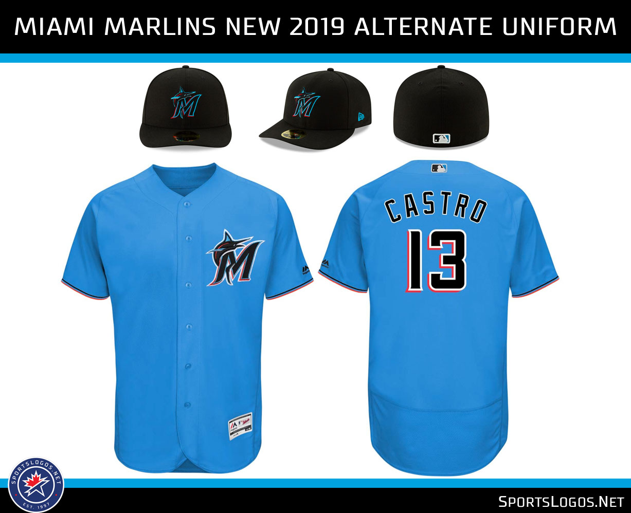 dedc7b31b Our Colores  Miami Marlins Unveil New Logos