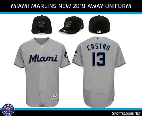 new styles dd72d 262dd Our Colores: Miami Marlins Unveil New Logos, Uniforms for ...