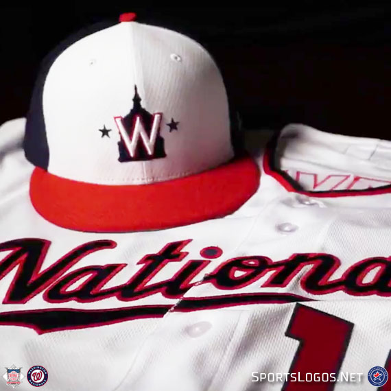 Washington Nationals Release New 2019 Spring Uniform
