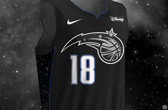 Magic Reach for the Stars With New Uniform