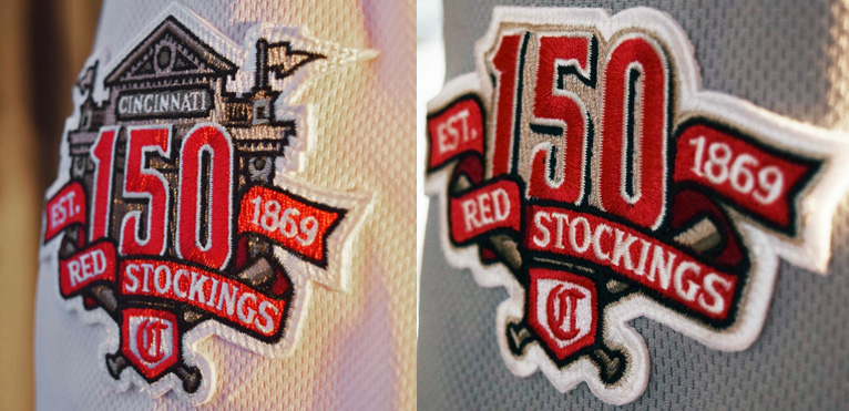 29ab35cdc11 Creamer  MLB s 150th anniversary patch spotted 👀 on a Minnesota ...
