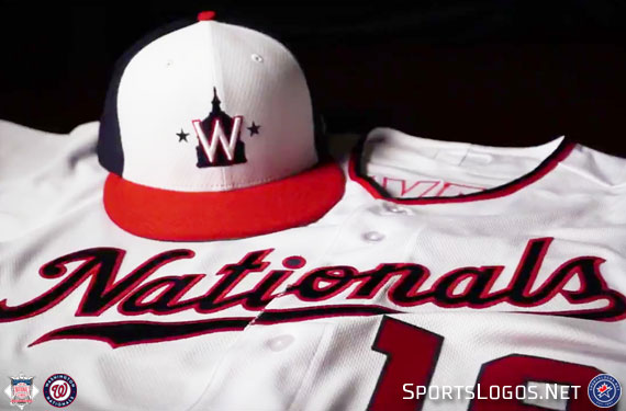 d05be31a2 The Washington Nationals this morning unveiled their new Spring Training  cap and jersey for their 2019 Grapefruit League (pre) season.