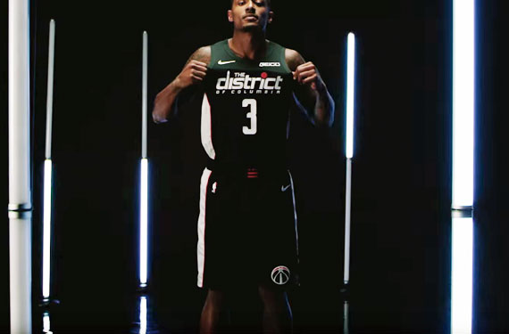 Wizards Rep the District, Unveil New Uniform & Ad Patch
