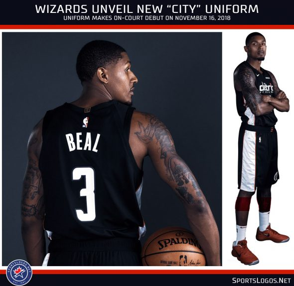 detailed pictures 4d900 42a30 Wizards Rep the District, Unveil New Uniform & Ad Patch ...
