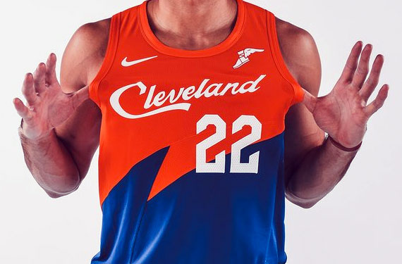 New Cavs City Uniform Mixes Up Past Uniforms in Blender