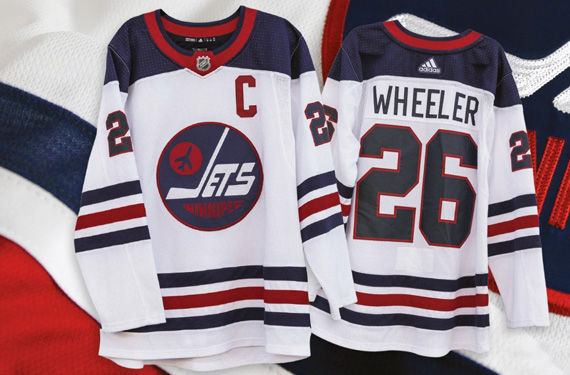 9b1fd58ebc8 The Winnipeg Jets will be turning back the clock twice in the next few  months, taking to the ice wearing the uniforms the previous Winnipeg Jets  wore during ...