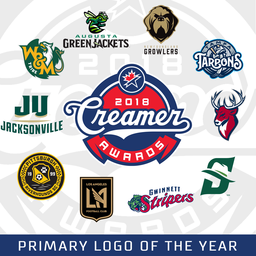 2018 Creamer Awards  Finalists Announced for Best New Sports Logos ... bac0aff9d