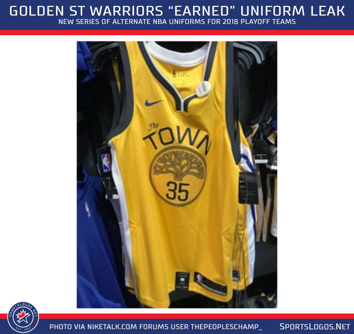 wholesale dealer 94d9d d3ef6 New Earned Uniforms for Heat, Jazz, Warriors Leak | Chris ...