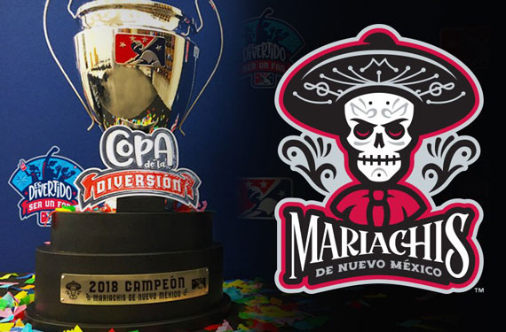 "Albuquerque Isotopes win ""Fun Cup"" with Mariachis identity"