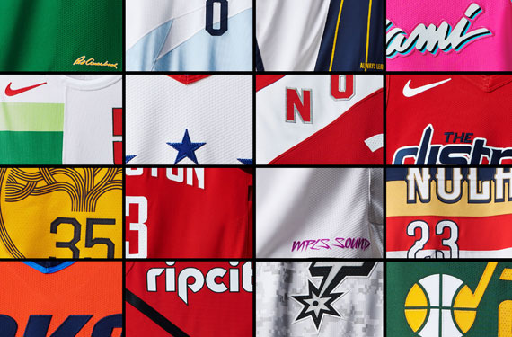 "The National Basketball Association and Nike today unveiled the sixteen new  alternate ""Earned"" uniforms that ll be worn between Christmas and the end of  the ... ea85dea86"