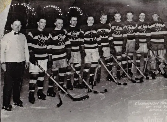 The Seattle Metropolitans of the PCHA and your 1917 Stanley Cup Champions