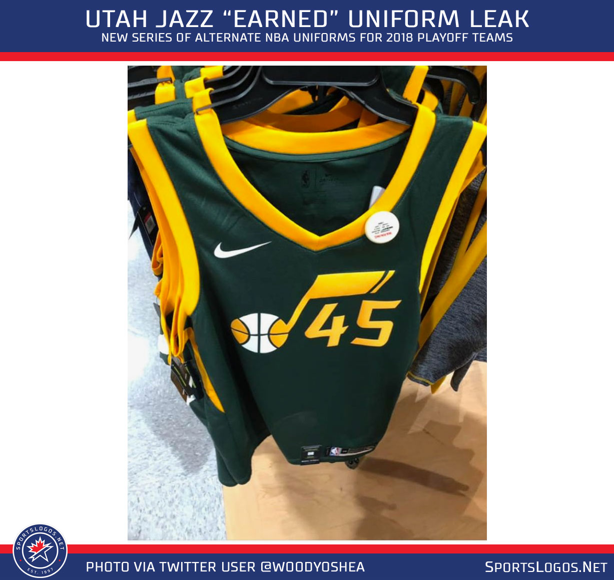 wholesale dealer 0b5ee b1149 New Earned Uniforms for Heat, Jazz, Warriors Leak | Chris ...